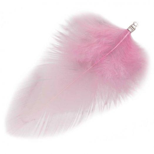 Veertjes (7 cm) Party Pink (10 Stuks)
