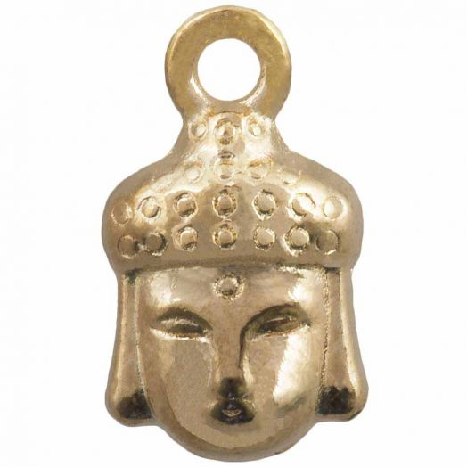 Bedel Buddha (14 x 8 mm) Goud (25 Stuks)
