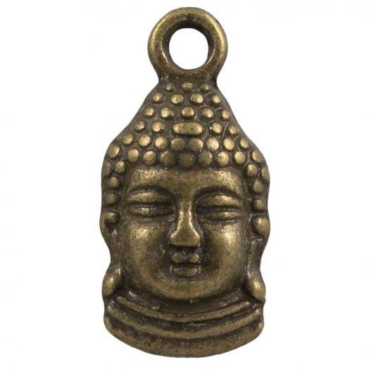 Bedel Buddha (15 x 7 mm) Brons (25 Stuks)