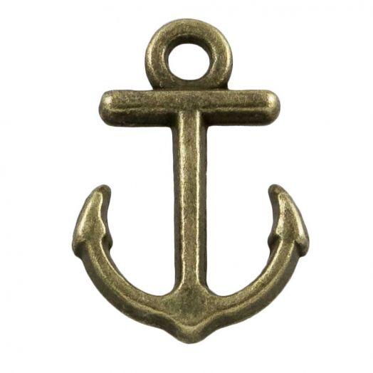 Bedel Anker (11 x 4 mm) Brons (25 Stuks)