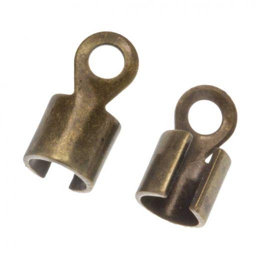 Veterklem (10 x 5 mm) Brons (10 Stuks)