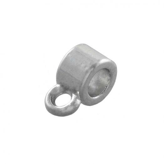 Tussenstuk 1 Oog (Binnenmaat 1 mm) Antiek Zilver (10 Stuks)