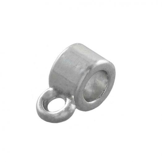 Tussenstuk 1 Oog (Binnenmaat 2 mm) Antiek Zilver (10 Stuks)