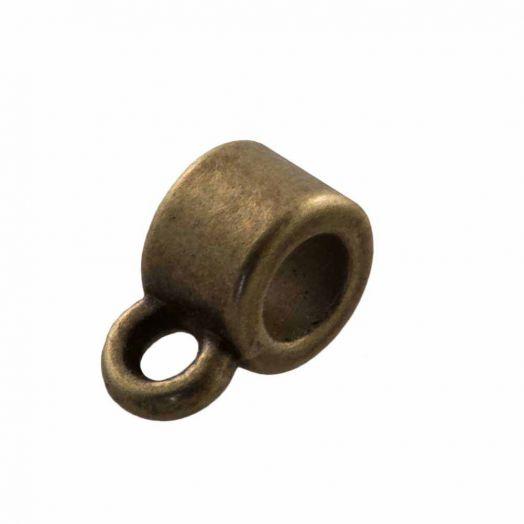 Tussenstuk 1 Oog (Binnenmaat 3 mm) Brons (10 Stuks)