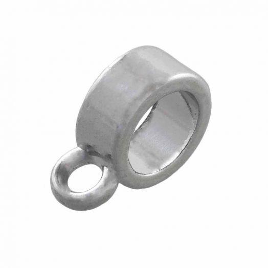 Tussenstuk 1 Oog (Binnenmaat 5 mm) Antiek Zilver (10 Stuks)
