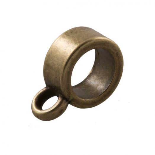 Tussenstuk 1 Oog (Binnenmaat 5 mm) Brons (10 Stuks)