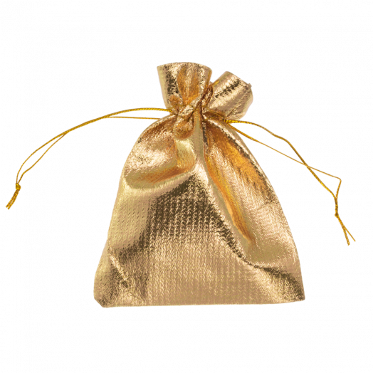 Metallic zakjes (13 x 18 cm) Gold (20 Stuks)