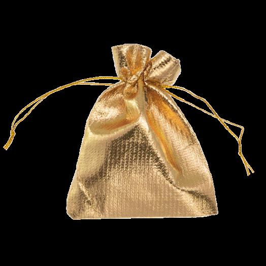 Metallic zakjes (7 x 9 cm) Gold (20 Stuks)