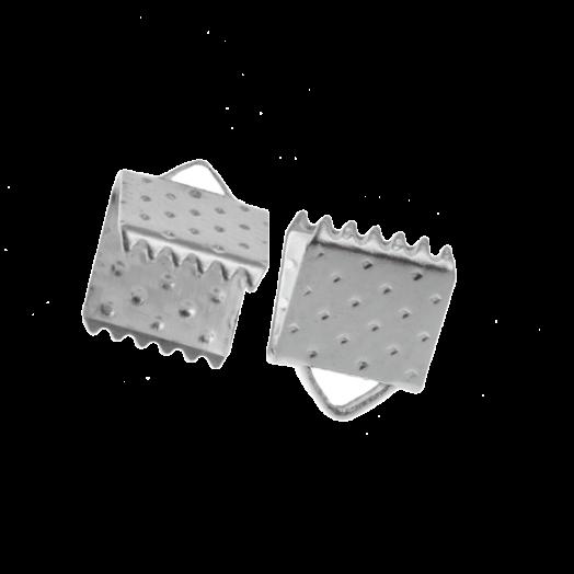 Lintklem (6 mm) Antiek Zilver (20 Stuks)
