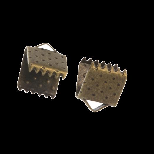 Lintklem (6 mm) Brons (20 Stuks)
