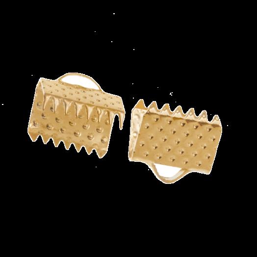 Lintklem (8 mm) Goud (20 Stuks)