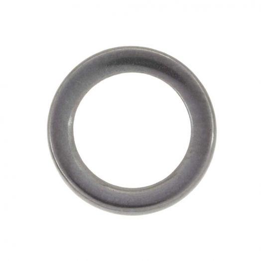 Stainless Steel Gesloten Ringen (buitenmaat 12 mm binnenmaat 10 mm) Antiek Zilver (20 stuks)