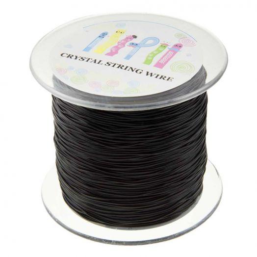 Top Kwaliteit Elastiek (0,8 mm) Black (130 Meter)