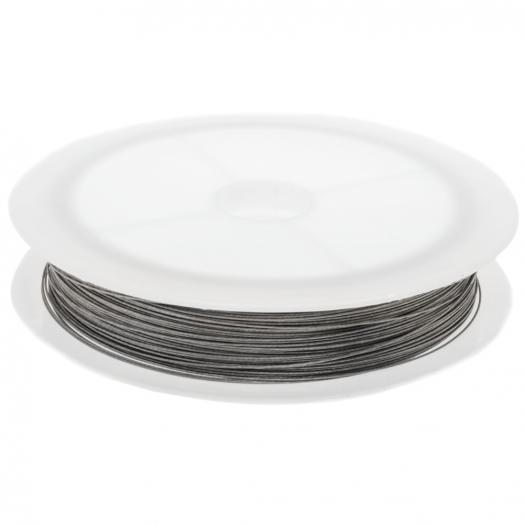 Metaaldraad (0.35 mm) Zilver (Rol a 25 meter)