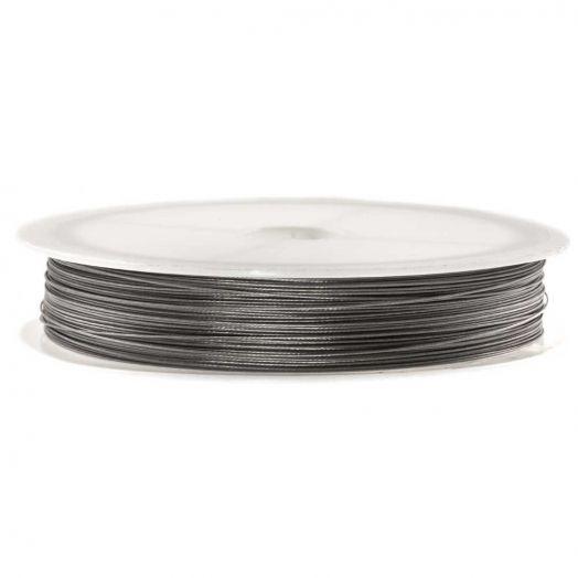 Metaaldraad (0.38 mm) Zilver (Rol a 60 meter)