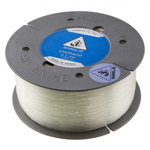 Top Kwaliteit Elastiek (0.5 mm) Transparent (1000 Meter)