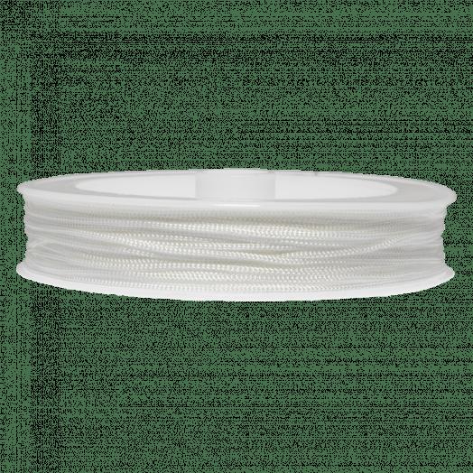 Nylon Koord (0.8 mm) White (25 Meter)