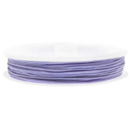 Nylon Koord (0.8 mm) Iris Purple (20 Meter)