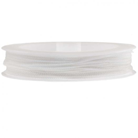 Nylon Koord (1 mm) White (20 Meter)