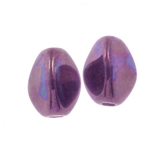 Pinch Beads (5 x 3 mm) Chalk White Iris (5 gram / circa 64 stuks)