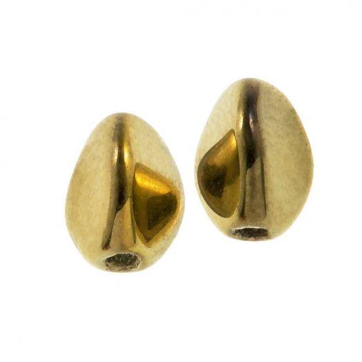 Pinch Beads (5 x 3 mm) Crystal Amber Full (5 gram / circa 64 stuks)