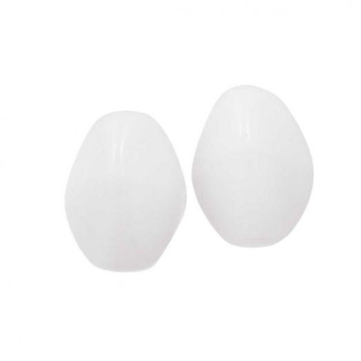 Pinch Beads (5 x 3 mm) Chalk White (5 gram / circa 64 stuks)