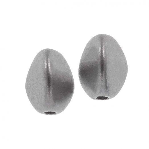 Pinch Beads (5 x 3 mm) Aluminium Silver (5 gram / circa 64 stuks)