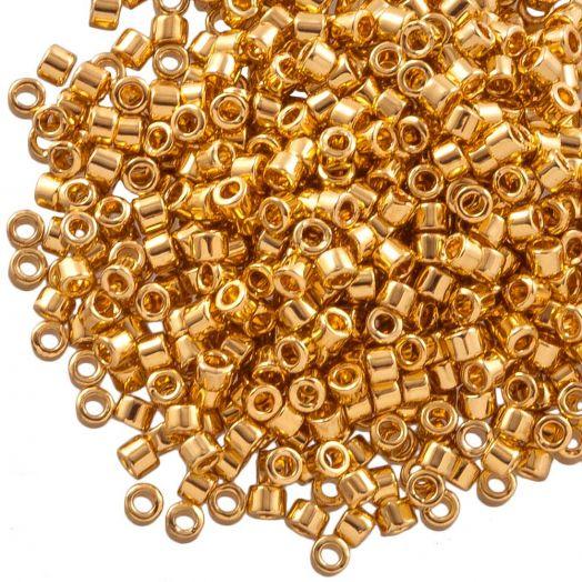 Miyuki Delica (11/0 mm) 24kt Gold Plated (10 Gram)