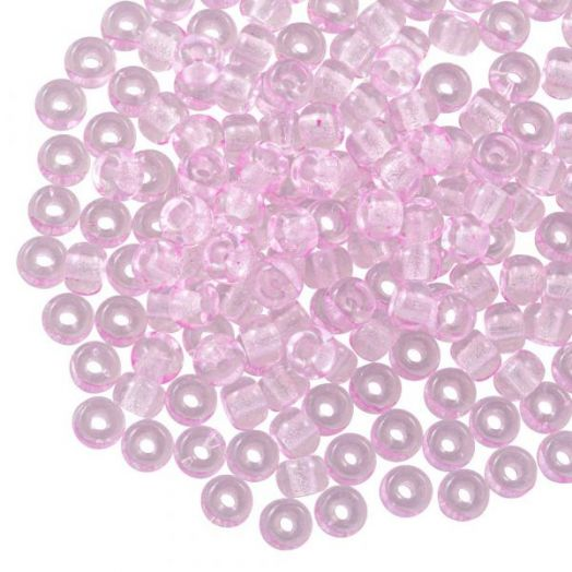 DQ Rocailles (3 mm) Pink (25 Gram / 600 stuks)