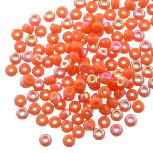 DQ Rocailles (4 mm) Bright Orange AB (25 Gram / 350 stuks)