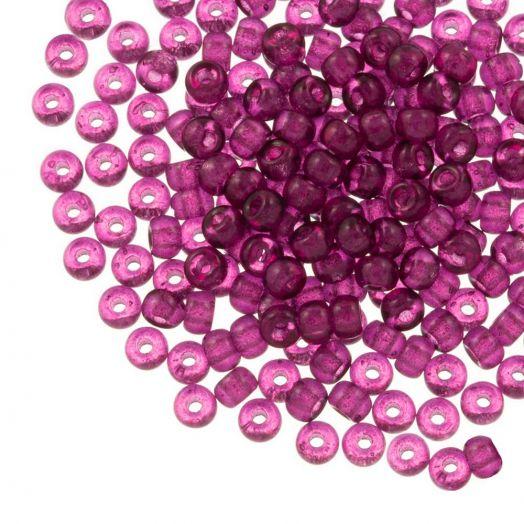 DQ Rocailles (4 mm) Mulberry Purple (25 Gram / 350 stuks)