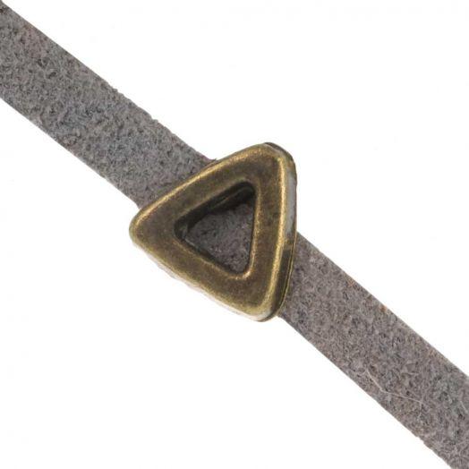 Schuiver (Binnenmaat 3 x 1.8 mm) Brons (10 Stuks)