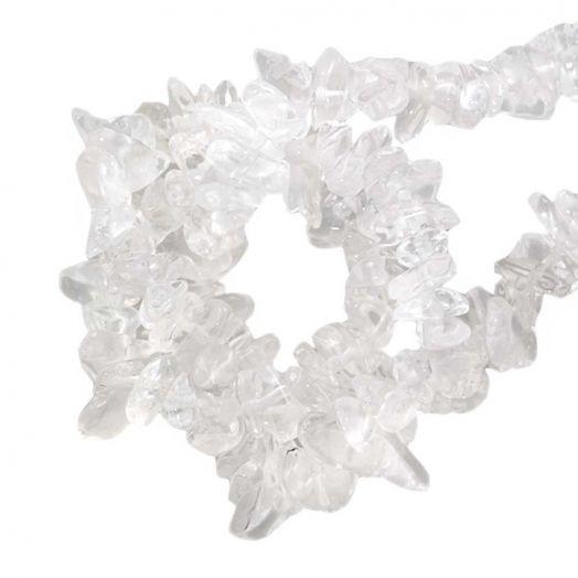 Natuursteen Chips Quartz (3 - 5 mm) 250 stuks