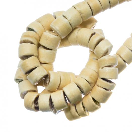 Kokos Kralen (4 - 5 mm) Sand (120 Stuks)