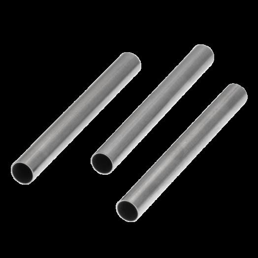 Stainless Steel Buisje (30 x 3 mm) Antiek Zilver (20 stuks)