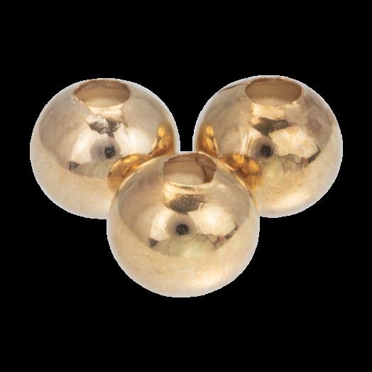 Metalen Kralen (6 mm) Goud (40 Stuks)