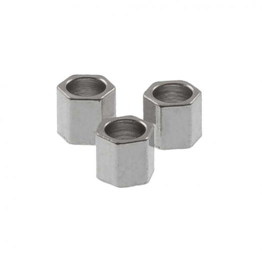 Stainless Steel Kralen (2 x 2 mm) Antiek Zilver (24 Stuks)