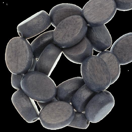 ovale houten kralen