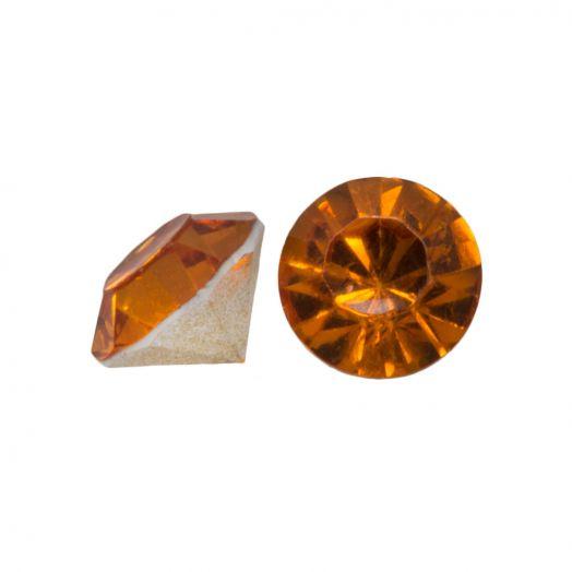 Puntsteen SS29 (6 mm) Clear Orange (25 Stuks)