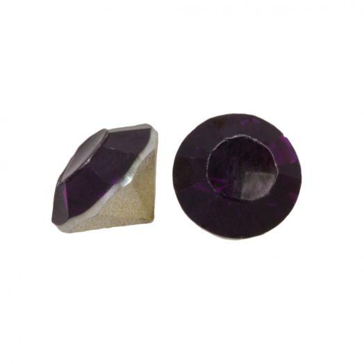 Puntsteen SS29 (6 mm) Deep Purple (25 Stuks)