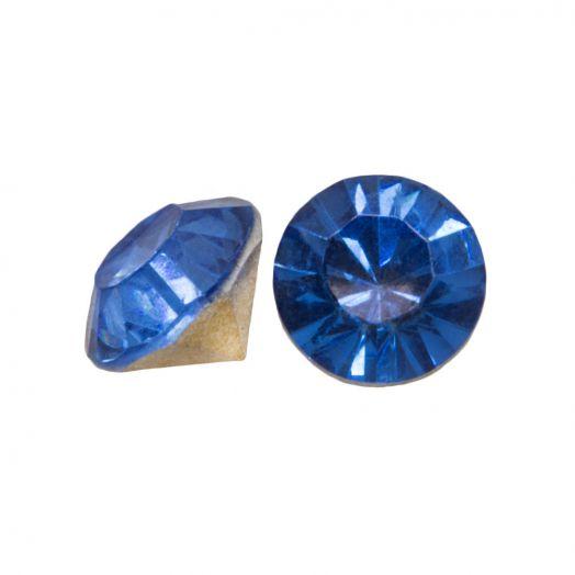 Puntsteen SS29 (6 mm) Clear Blue (25 Stuks)