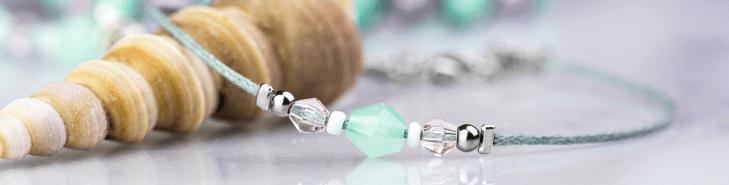 Knijpkralen sieraden maken