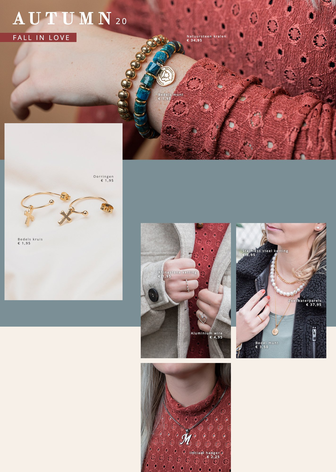 Gratis lookbook sieraden maken