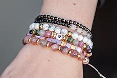 Neue Naturstein Perlen