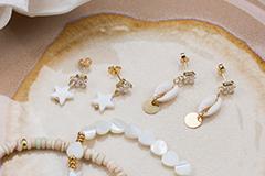 Summer shell beads