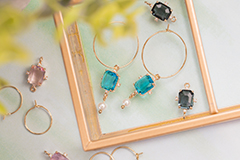 Earrings and stylish Connectors