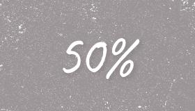 50% korting op kralen, sieraad onderdelen en bedels